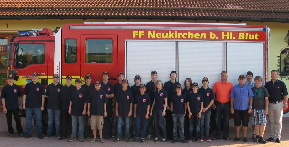Feuerwehrjugend eingekleidet